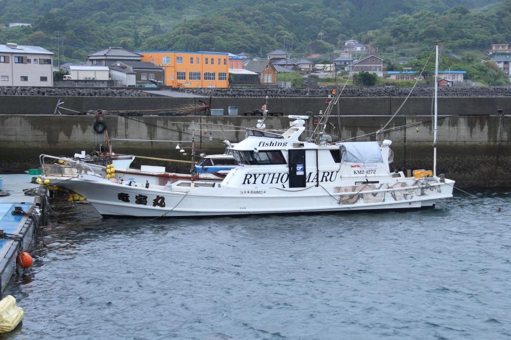 竜宝丸 天草 通詞島 遊漁船 船釣り 船体